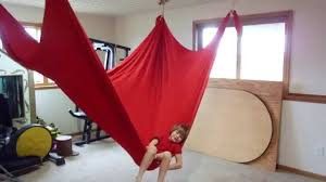 How To Make Swing Bed by Lycra Hammock Build Youtube