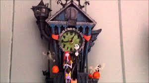 Kukuclock The Nightmare Before Christmas Cuckoo Clock Demonstration