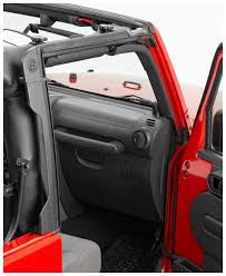accessories jeep wrangler unlimited bestop door surround kit for cable top for 07 current jeep