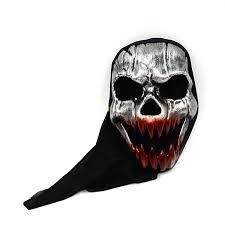 halloween skeleton mask wholesale halloween scare ghost plastic skeleton mask balaclava