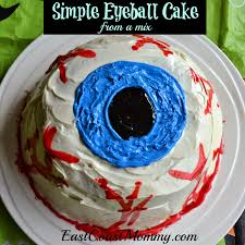 eyeball cake cake halloween goodies and party treats