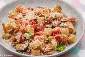 cuisiner les aubergines facile salade de pâtes à l italienne kilometre 0 fr