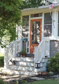 Painted Porch Floor Ideas by Exterior Extraordinary Image Of Front Porch Decoration Using Dark