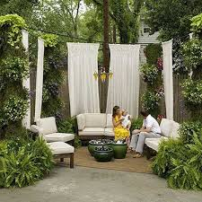 Outdoor Privacy Curtains 22 Simply Beautiful Low Budget Privacy Screens For Your Backyard