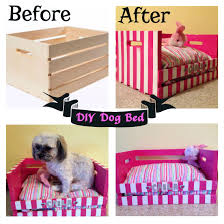 Upcycled Drawer Pet Bed Diy by Created A Dog Bed For My Shih Tzu Poodle Made From A Wooden Crate