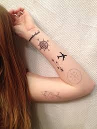 Map Of The World Tattoo Wrist by 6 Travel Temporary Tattoos Pack Smashtat By Smashtat On Etsy