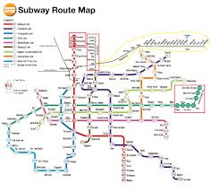 Map My Route by Osaka Subway Route Map My Blog