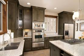 Modern Wooden Kitchen Designs Dark by Kitchen Dark Wood Kitchen Cabinets Traditional Black Inside