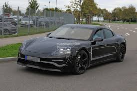 porsche prototype 2015 spyshots porsche mission e prototype reveals sleek design and