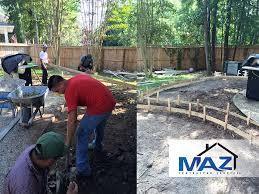 Gravel Patio Construction Pea Gravel Patio Woodlands U2013 Maz Contractor