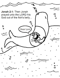 jonah whale coloring page coloring pages