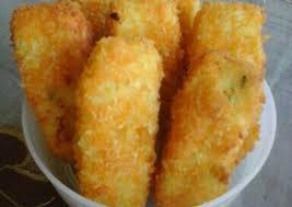 membuat nugget ayam pakai tepung terigu resep nugget ayam wortel keju oleh evi susanti cookpad