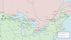 map of us and canada map us border with canada major tourist attractions maps