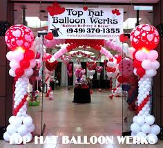 balloon delivery riverside ca top hat balloon werks balloon event decorations orange county