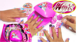 winx fairy fashion set do it yourself nail art design youtube