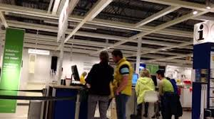 Ikea Inside Motion Of People Shopping Their Furniture Inside Ikea Store Stock
