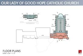 catholic church floor plan designs our lady of good hope catholic church welcome