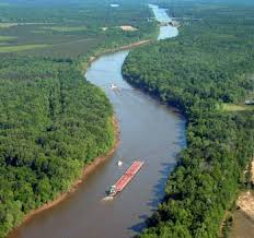 tombigbee waterway map information for navigating the tennessee tombigbee waterway
