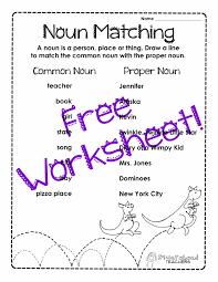 proper noun worksheets 1st grade worksheets