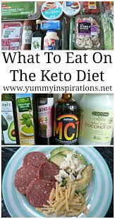 what to eat on a ketogenic diet what to eat on the low carb keto
