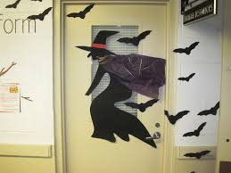 halloween office door decorations ideas