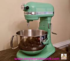 Kitchen Aide Mixer by Kitchenaid Stand Mixer 6 Quart Unboxing Seacrest Green Youtube