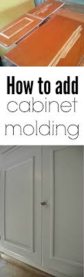 how to add molding to kitchen cabinet doors how to add molding to kitchen cabinet doors page 1 line