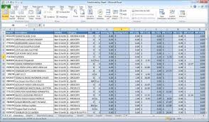 Sample Stock Portfolio Spreadsheet Financial Excel Template Virtren Com