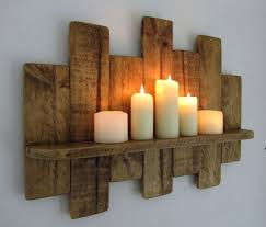 Jar Candle Wall Sconce Sconce Cherry Wood Candle Wall Sconces Wooden Wall Sconce Candle