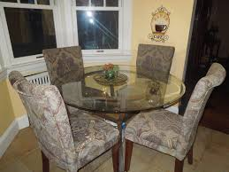 Traditional Dining Room Tables Dining Room Exciting Interior Chair Design With Cozy Parsons
