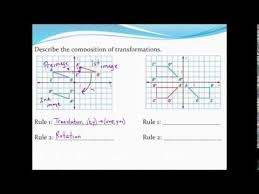 writing rules for a composition of transformations youtube