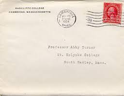 letters to abby howe turner 1896 1920 1924