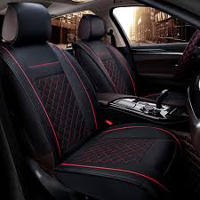 Accessories For Cars Interior Full Set Genuine Leather Car Seat Covers Universal Seat Cushion