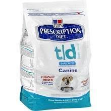 hill u0027s prescription diet t d dog food dry small bites id 8552667