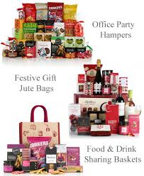 office party sharing hampers staff presents christmas gift bags