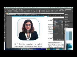 how to make a resume template in indesign youtube