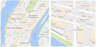 Maps Google Com Washington Dc by Google Maps Gets A Cleaner Look And Starts Highlighting Areas Of