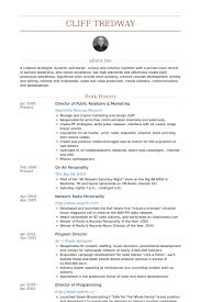 Marketing Resume Sample by Director Of Public Relations Resume Samples Visualcv Resume