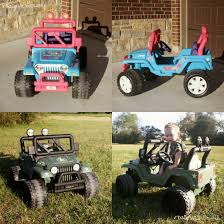 power wheels jeep barbie barbie jeep makeover willy u0027s jeep crazy wonderful