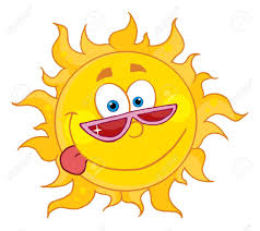 happy sun with shades royalty free cliparts vectors and stock