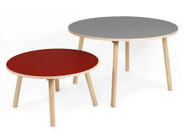 Kids Drafting Desk by Furniture Chic Round Table With Red Table Top And Four Legs From