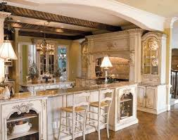 Victorian Style Kitchen Cabinets Victorian Style White Wooden Kitchen Counter Antique Victorian