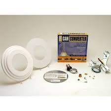 Ceiling Light Conversion Kit model r56 5 and 6 inch can light converter with white medallion