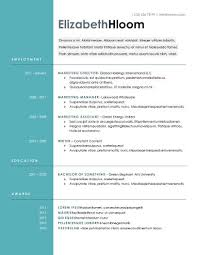 free resume formatting blue side free resume template by hloom com arte pinterest