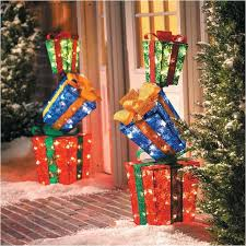 outdoor lighted gift boxes sylvania outdoor decor lighted gift boxes beautiful 242 best outdoor