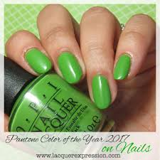 2017 Color Of The Year Pantone Pantone Color Of The Year 2017 For Nails Greenery