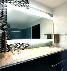 Frameless Bathroom Mirror Large Frameless Wall Mirrors Wall Mirror Large Frameless Wall