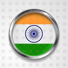 Image Indian Flag Download Republic Of India Flag Round Button Royalty Free Vector Clip Art