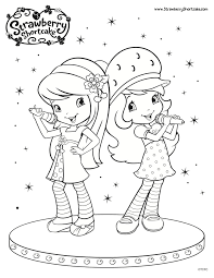download coloring pages strawberry shortcake christmas coloring