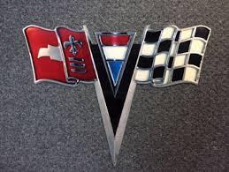 1963 corvette emblem corvette signs from garage llc